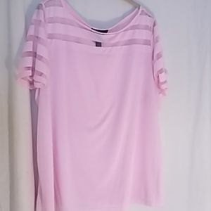 INC pink blouse 3X